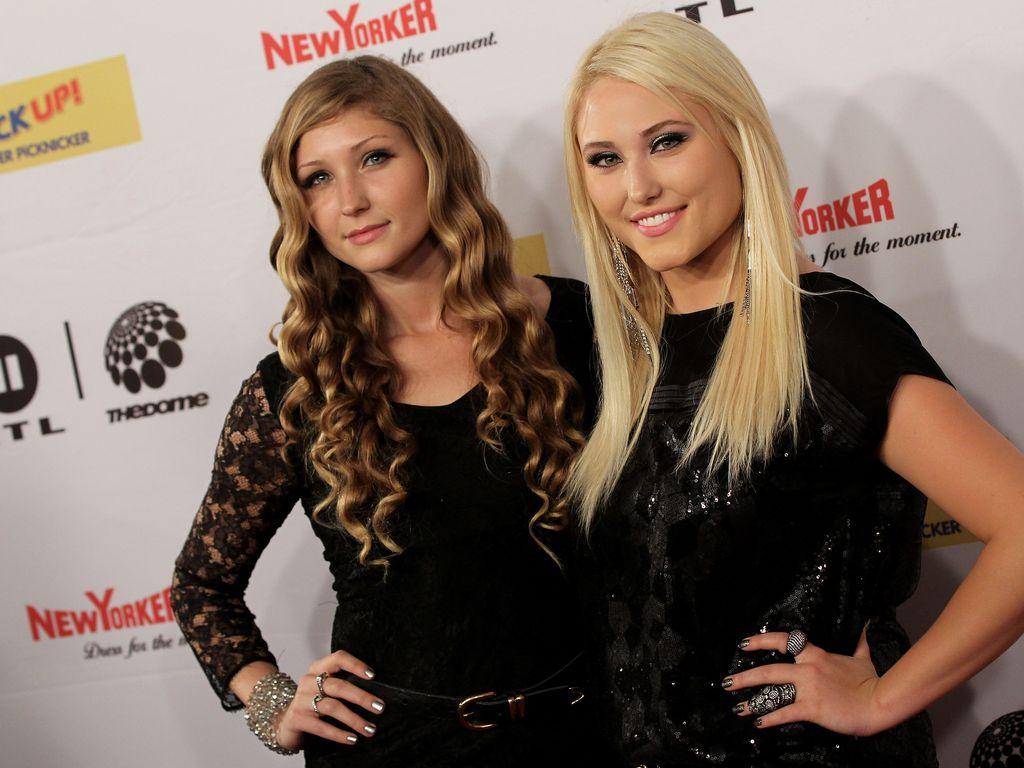Taylor Ann Hasselhoff und Hayley Hasselhoff