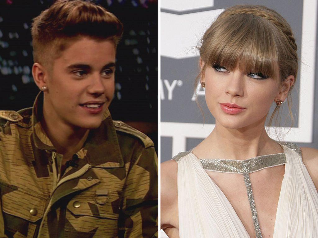 Taylor Swift und Justin Bieber