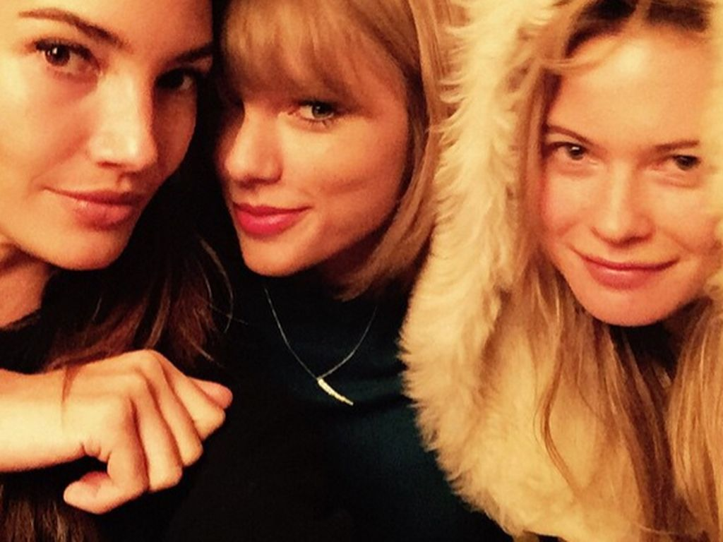 Taylor Swift, Behati Prinsloo und Lily Aldridge