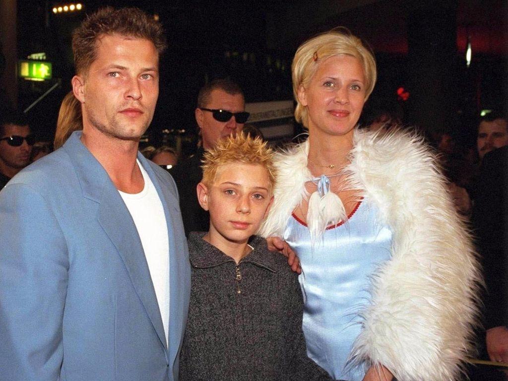 Til Schweiger, Marcel Graf und Dana Schweiger 1996