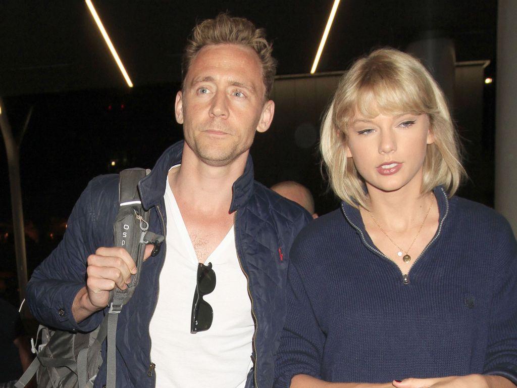 Tom Hiddleston und Taylor Swift am Flughafen von LA