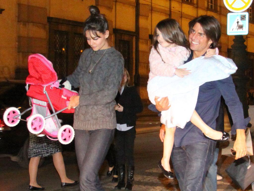 Katie Holmes, Suri Cruise und Tom Cruise