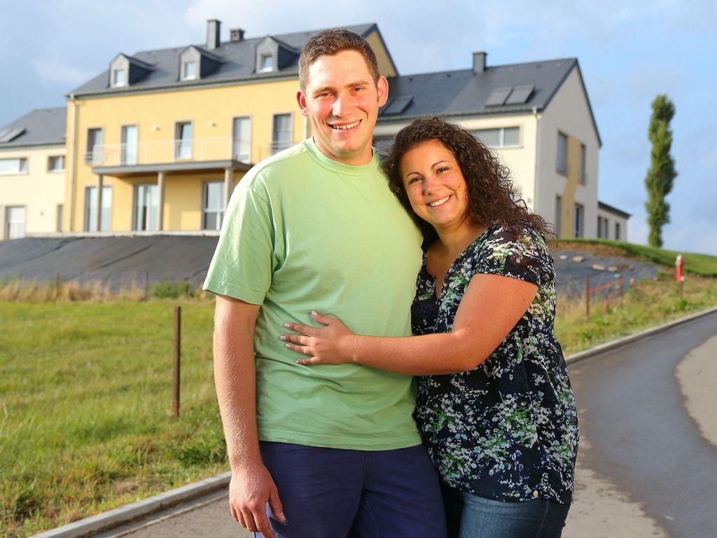 TV-Bauer Guy und seine Frau Victoria