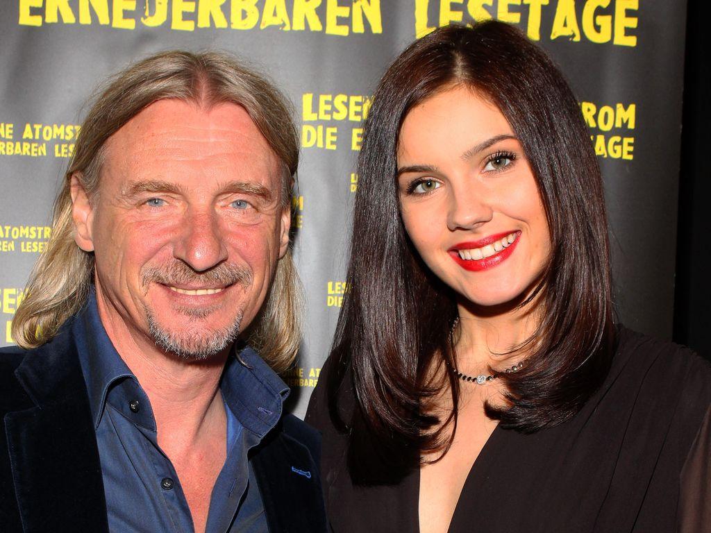 Unternehmer Frank Otto und Model Nathalie Volk