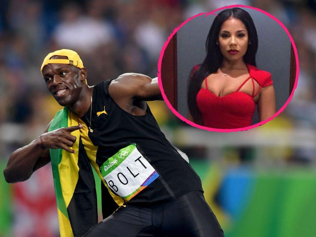 Usain Bolt und seine Freundin Kasi J. Benett
