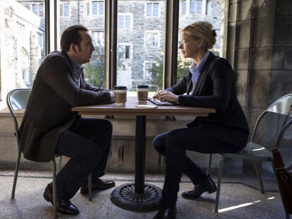 Veronica Ferres und Nicolas Cage
