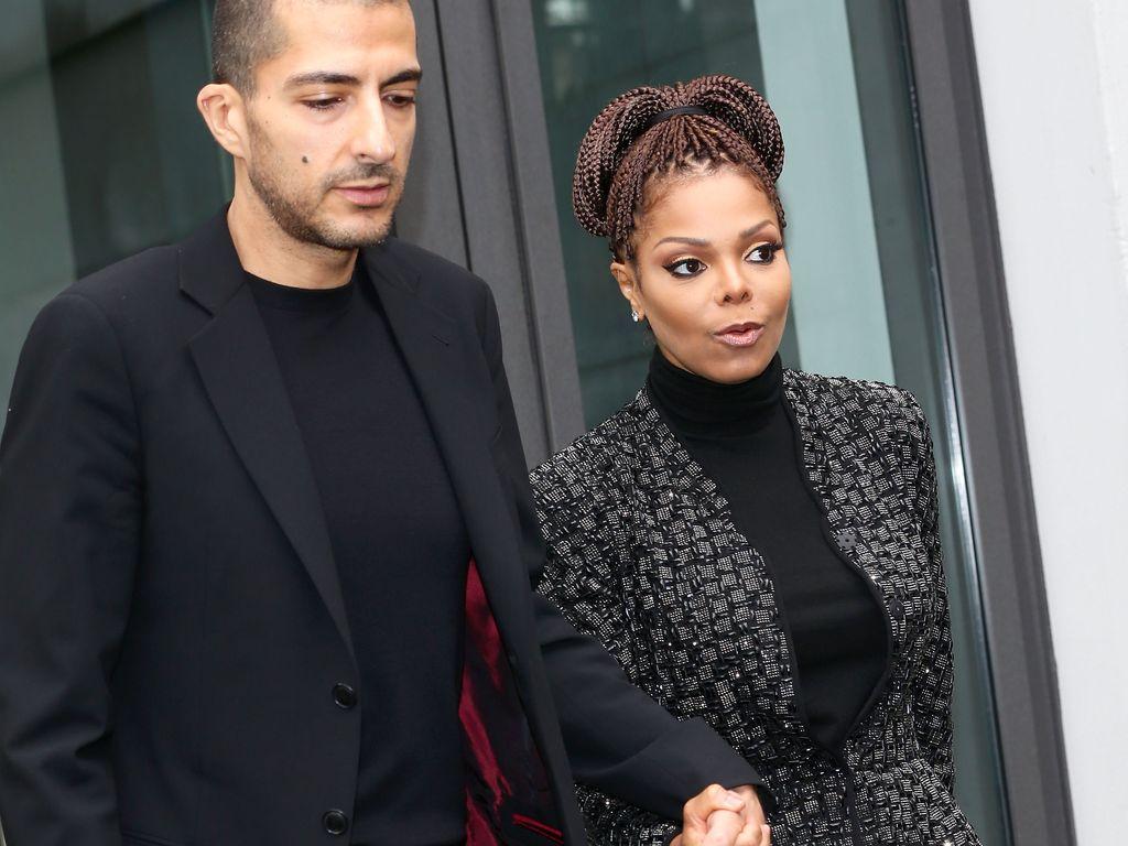 Wissam al Mana & Janet Jackson bei der Mailand Fashion Week