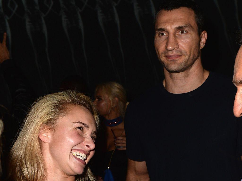 Wladimir Klitschko und Hayden Panettiere in Miami
