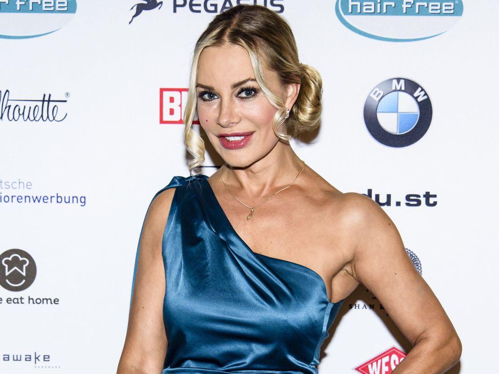 Xenia Seeberg auf der Lebensherbst Charity Gala 2015