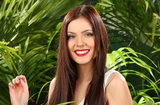 Nathalie Volk beim Dschungelcamp 2016