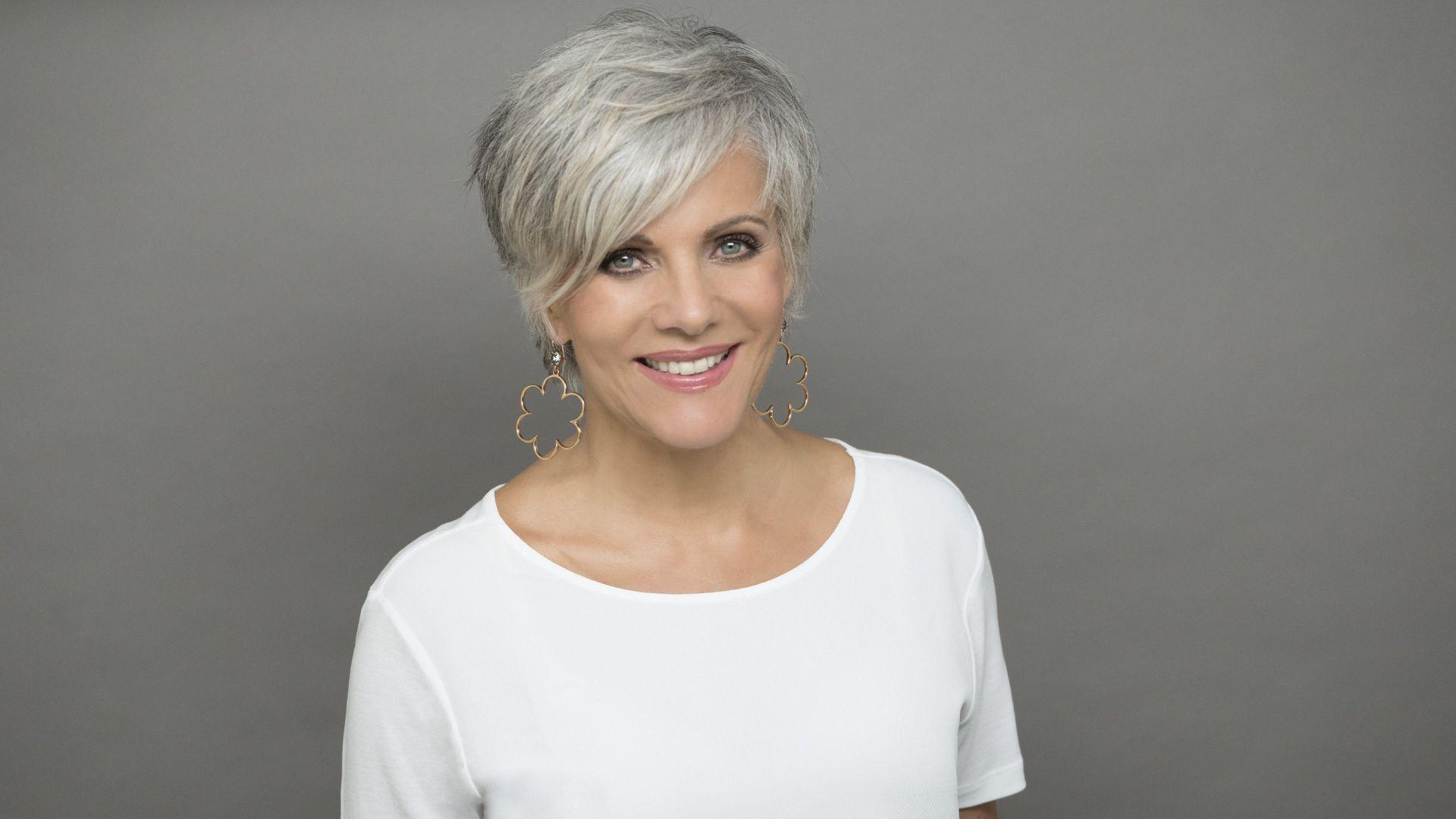 Birgit Schrowange über Ihren ersten Tag mit grauen Haaren