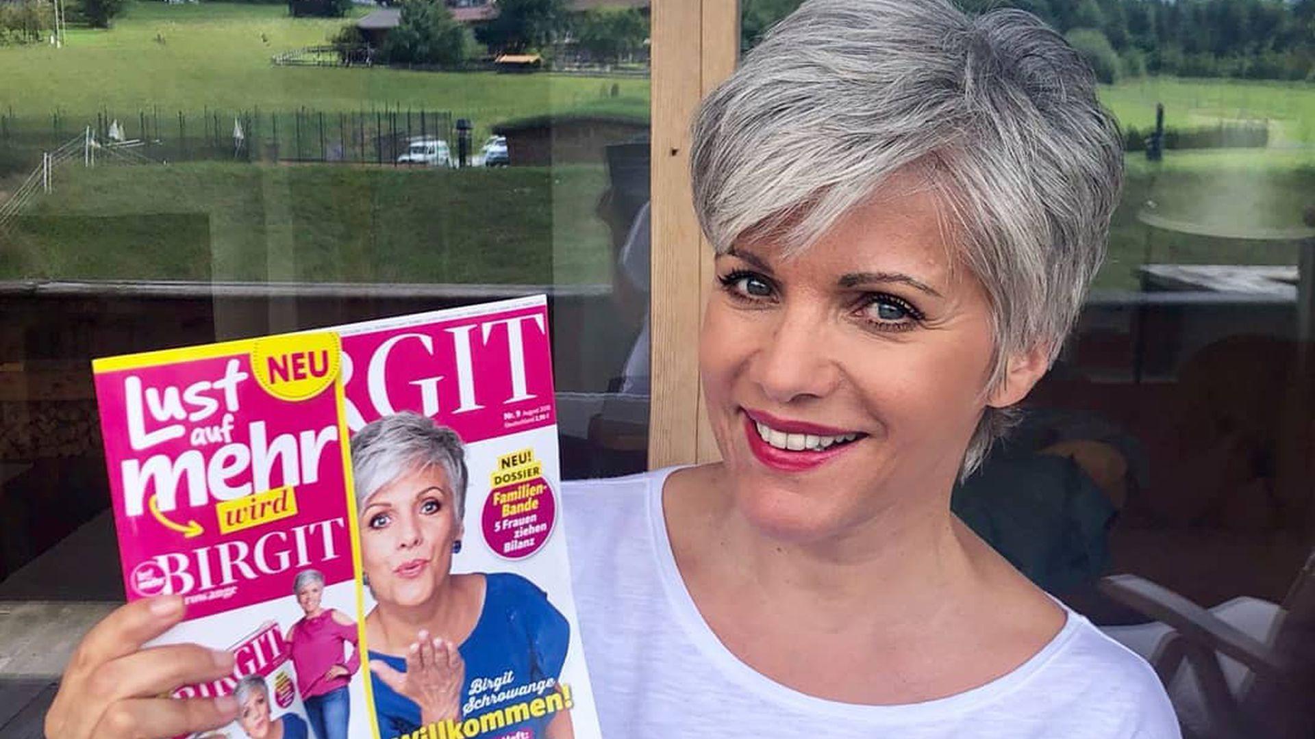 Trägt Birgit Schrowange Die Coolste Sommerfrisur Des Jahres