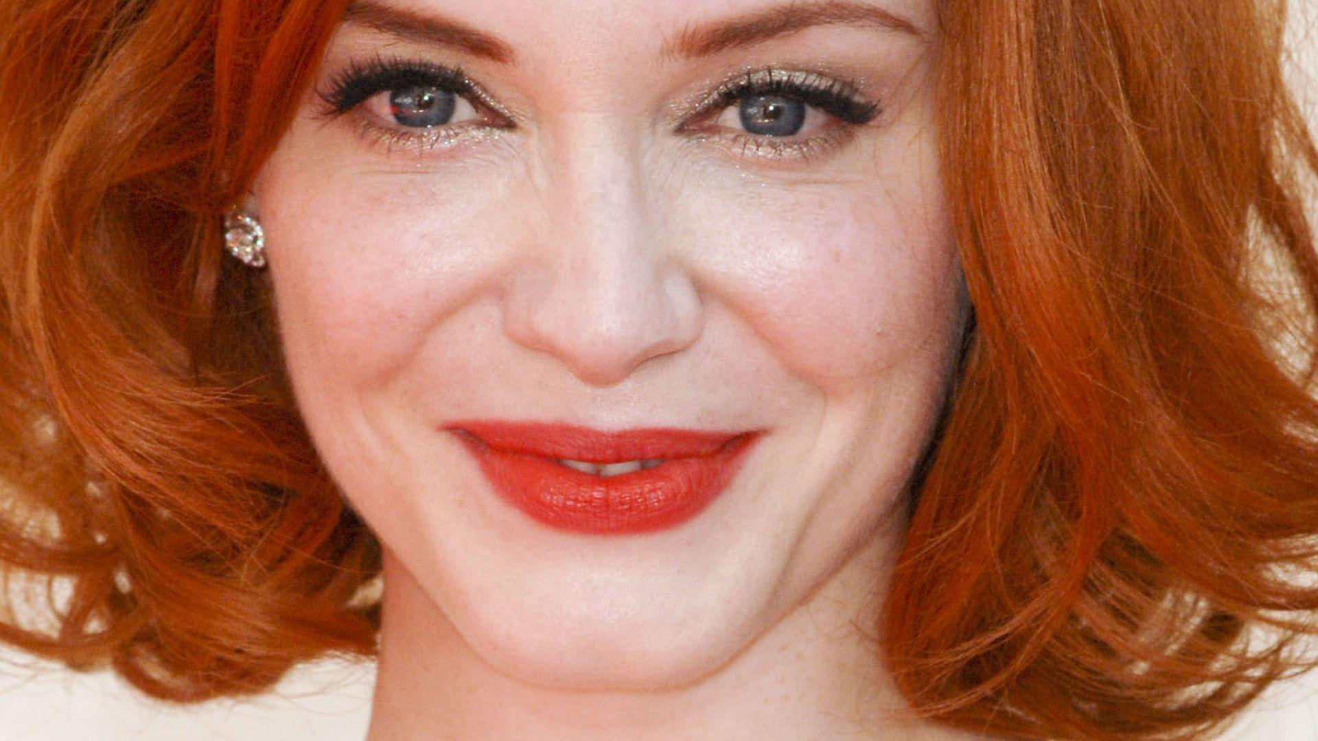 Christina Hendricks: Rote Haare gehen gar nicht