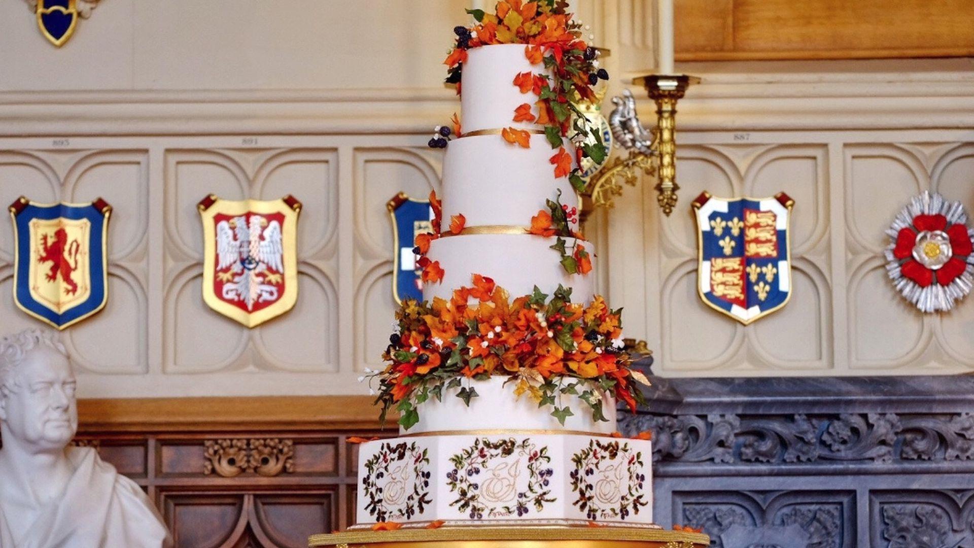 Herbstlich Und Weiss Das Ist Eugenie Jacks Hochzeitstorte