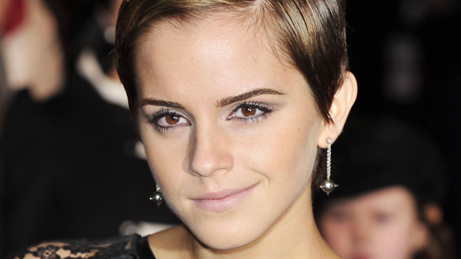 8 Jahre Nach Pixie Cut Emma Watson Mit Neuer Pony Frisur