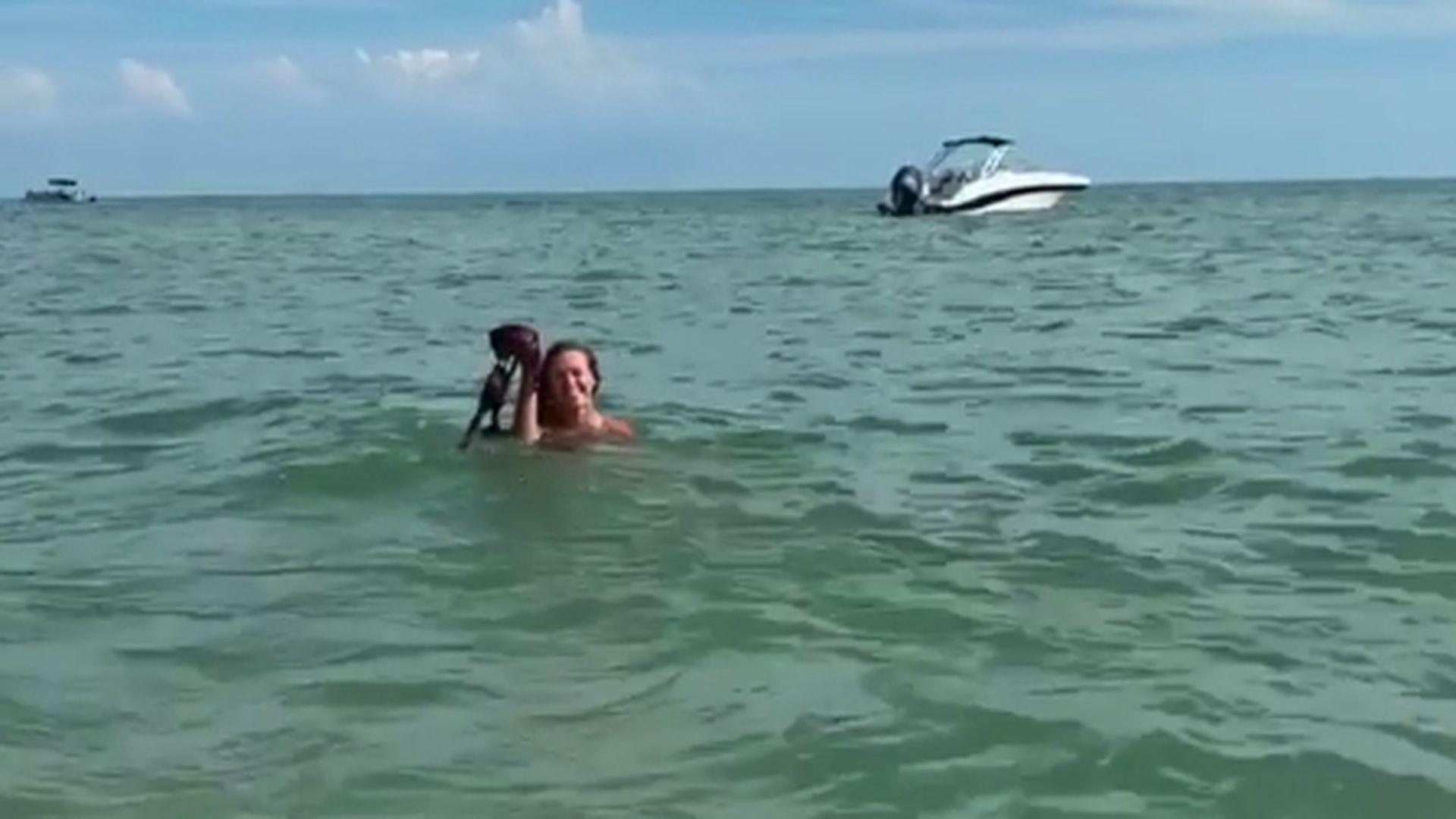 Nackt baden film