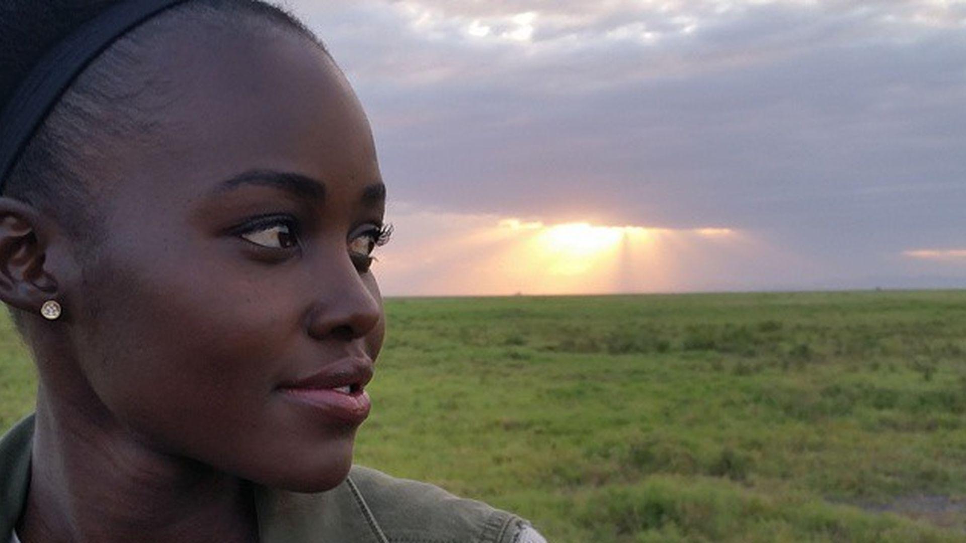 Einsame kenianische Damen