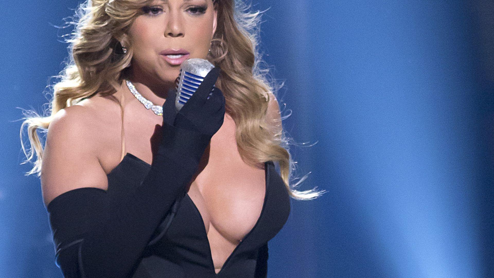Mariah carey große Titten