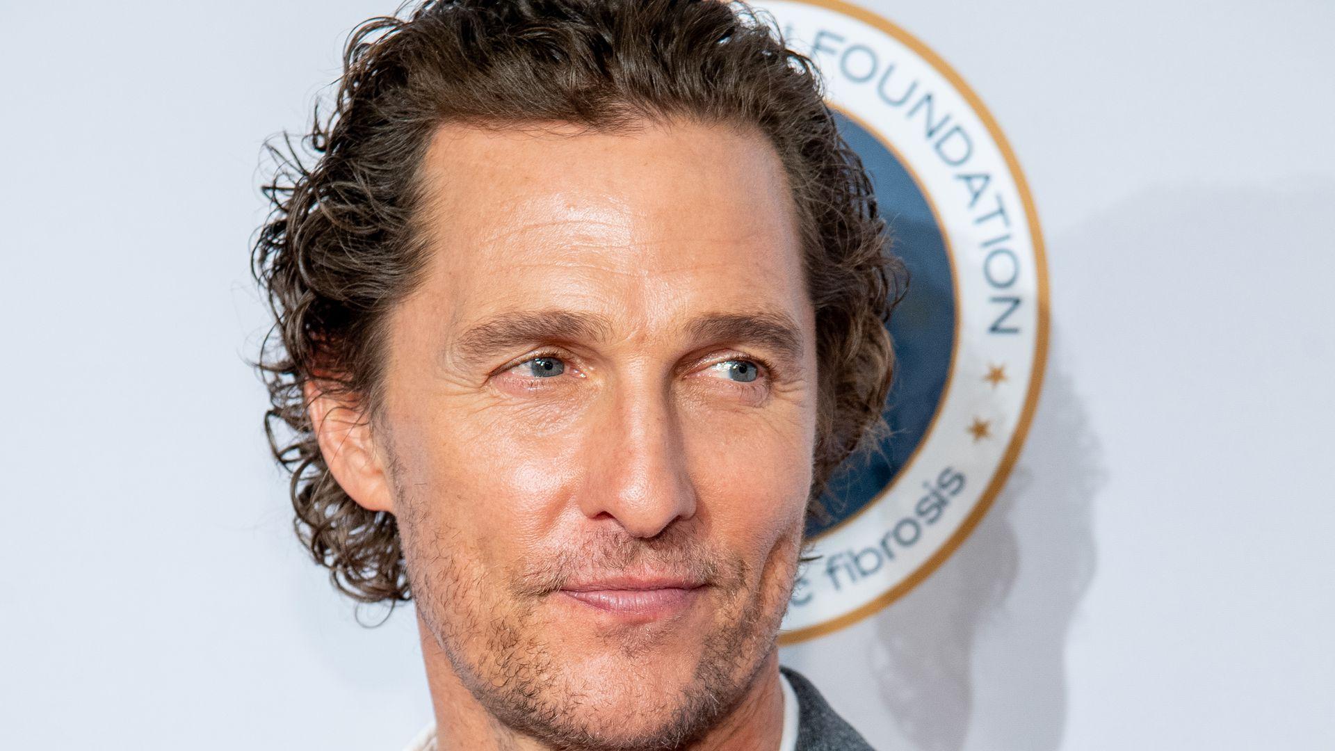 Beim ersten Mal: Matthew McConaughey wurde zum Sex