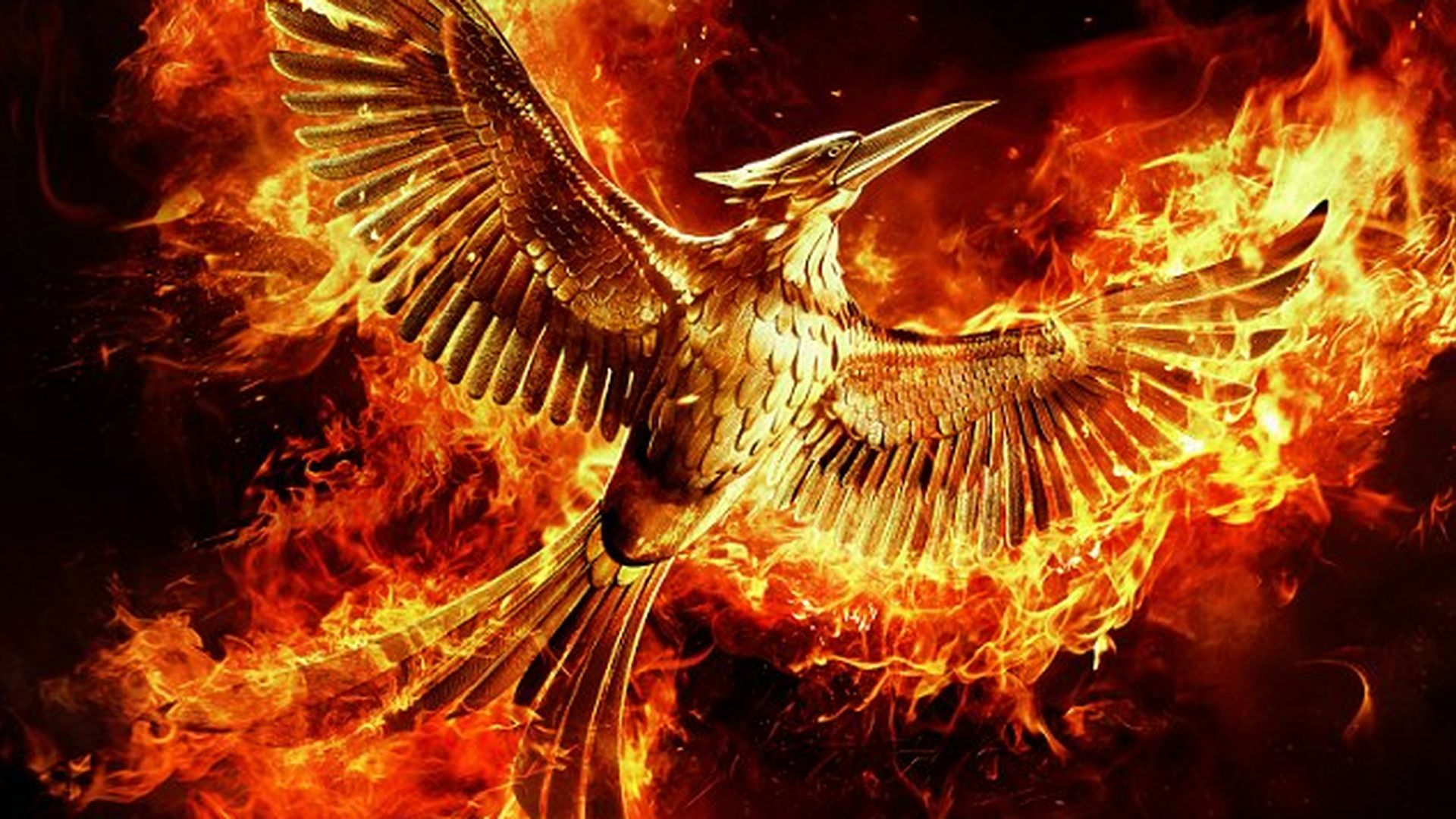 "Feuriges Finale: 1.""Mockingjay 2""-Poster & Trailer"