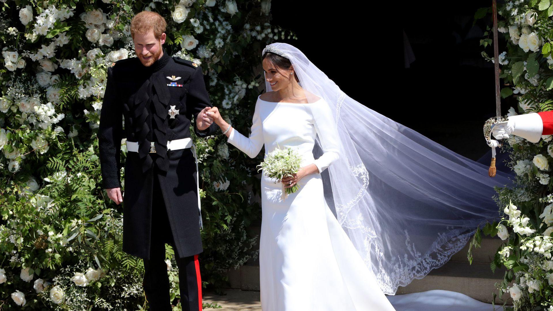 Erstes Foto Das Ist Die Hochzeitstorte Von Harry Meghan