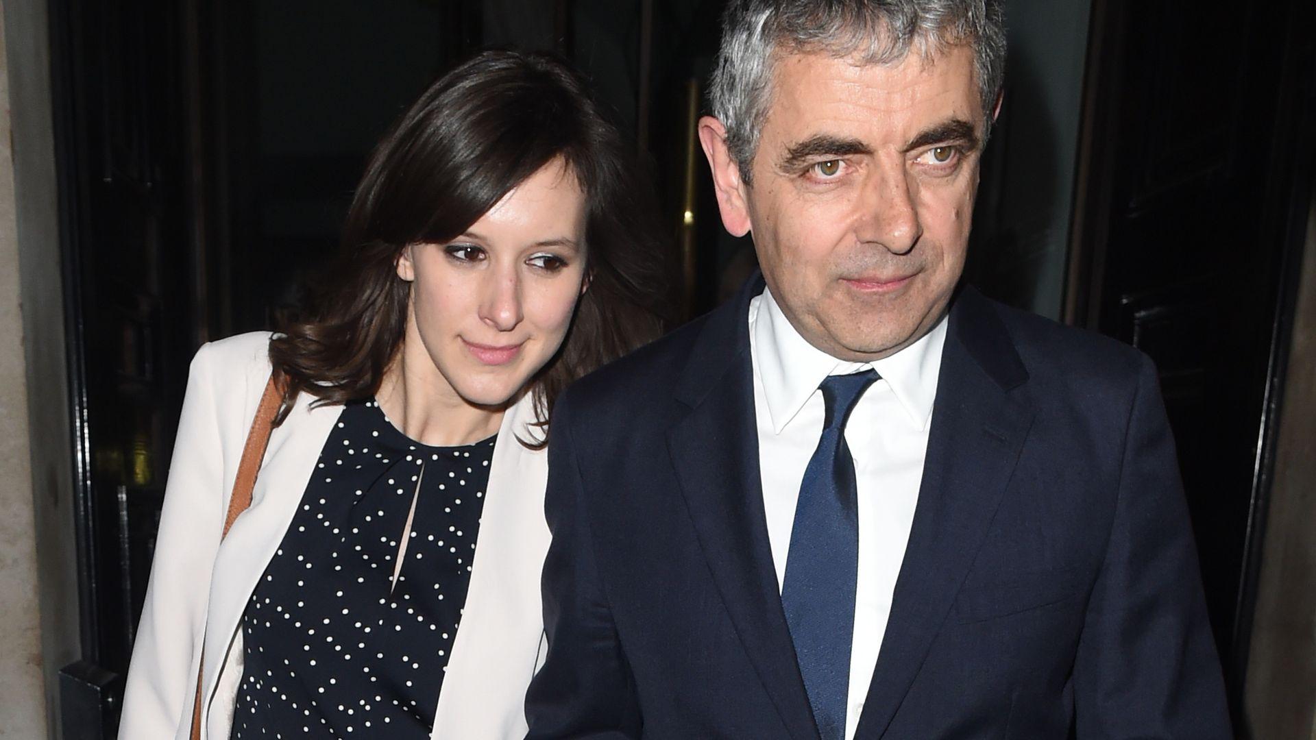 Rowan Atkinson Freundin