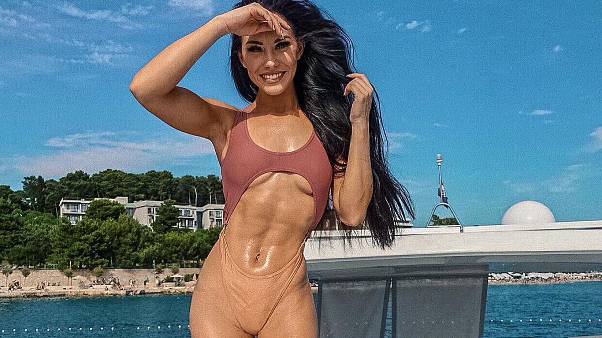 Wow-Bauch: Fitness-Star Stephanie verrät Sixpack-Geheimnis