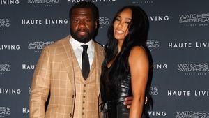 Immer noch verliebt! 50 Cent mit Freundin auf Red Carpet