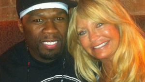 50 Cent & Goldie Hawn beim Mittagessen erwischt