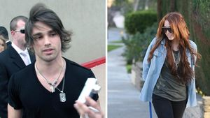 Miley Cyrus und Justin Gaston