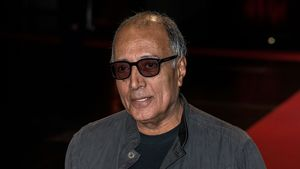 Abbas Kiarostami beim 7th Lumiere Film Festival 2015 in Lyon