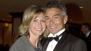Actress Olivia Newton-John und Patrick McDermott bei den 10th Annual Human Rights Campaign Gala