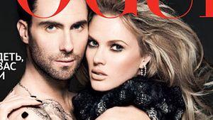 Adam Levine: Nackt mit Freundin auf der Vogue!