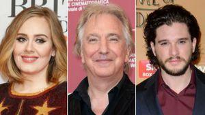 Adele Adkins, Alan Rickman und Kit Harington