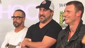 Nick Carter, AJ McLean und Joey Fatone