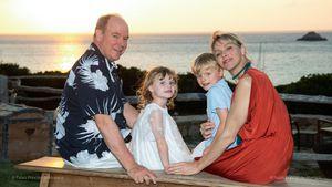 Mit den Kids: So feierten Charlène und Albert Hochzeitstag