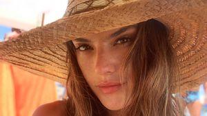 Megaknackig! Alessandra Ambrosio gibt mit Bikini-Figur an