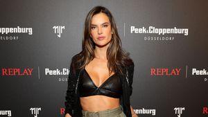 Sexy Look: Alessandra Ambrosio rockt deutsches Event