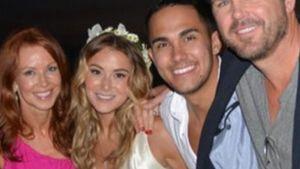 Schick in Satin: Seht Alexa Vegas Hochzeitskleid!