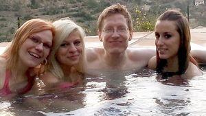 Jungfrau-Alfi geht auf Frauensuche im Whirlpool