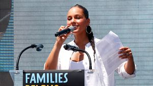 Was für ne Mega-Frise! Alicia Keys' Sohn hat Bad-Hair-Day!