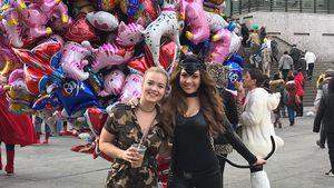 Ex-Bachelorette Alisa Persch beim Karneval