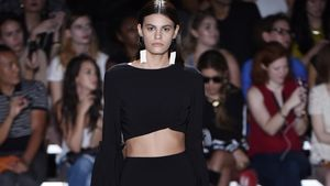 Alisar Ailabouni auf der New York Fashion Week