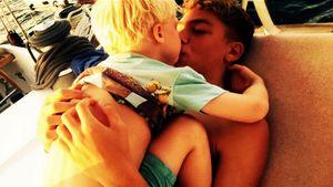 Wahre Bruder-Liebe! Elias & Amadeus Becker zum Abknutschen