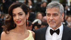 Amal und George Clooney in Cannes 2016