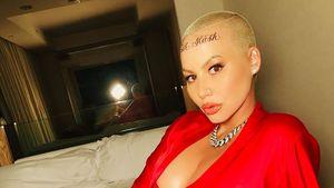 Nach Kritik für ihr Stirn-Tattoo: Amber Rose schießt zurück!