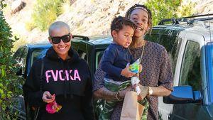 Für Sohn Sebastian: Amber Rose & Wiz Khalifa ganz harmonisch