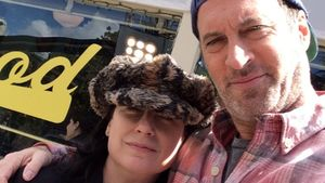 Amy Sherman-Palladino und Scott Patterson