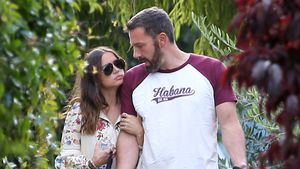 Total verknallt: So süß turtelt Ben Affleck mit Freundin Ana