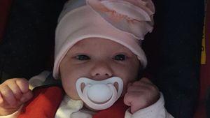 Wollny-Fans begeistert: Erster Baby-Post mit offenen Augen!
